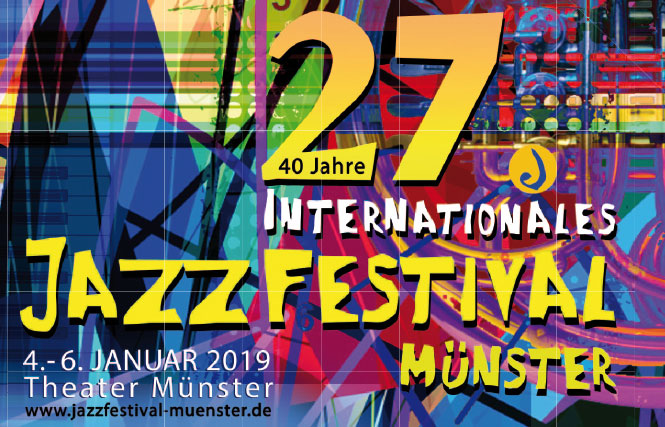 Jazzfestival Münster 2019 Logo