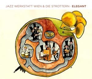 Die Strottern und Jazzwerkstatt Wien - Elegant - Cover
