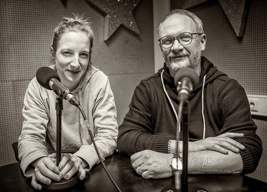 Alexandra Lehmler, Christoph Hussong, Photo: Frank Schindelbeck