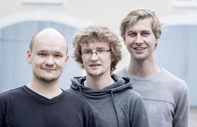 Skulski, Gerigk, Roth - Photo: Schindelbeck