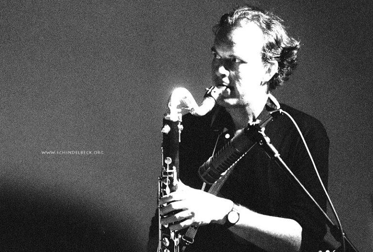 Michael Riessler 1997 - Foto: Frank Schindelbeck