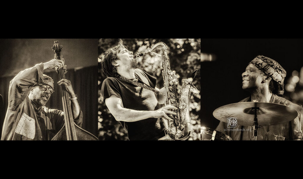 Dikeman - Parker - Drake - Photo: Frank Schindebelbeck Jazz Photography