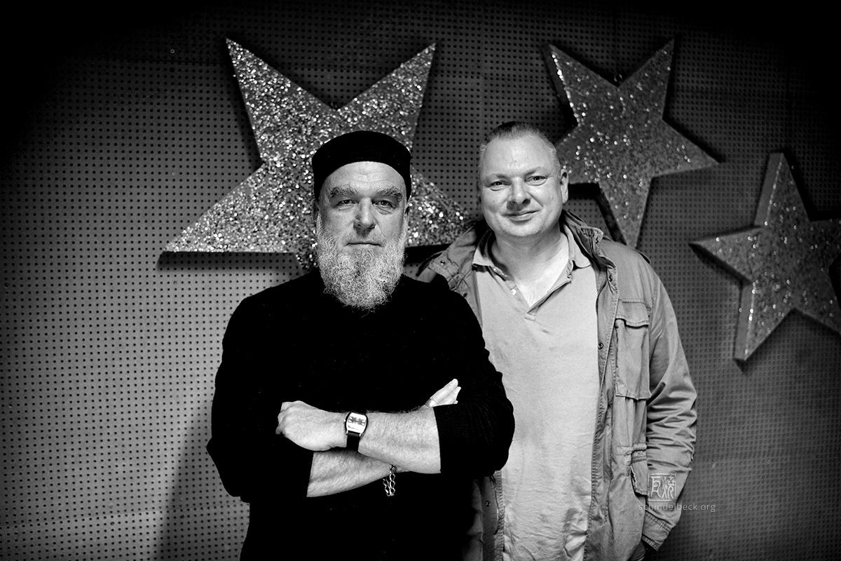 Erwin Ditzner und Stephan Kirsch - Foto: Frank Schindelbeck Jazzfotografie