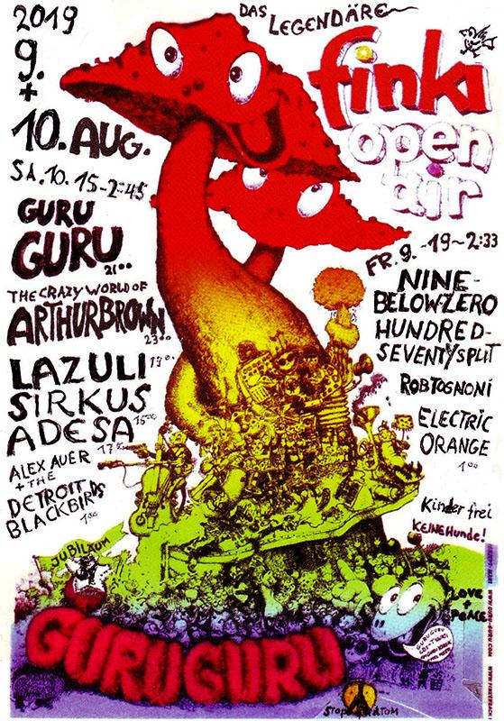 Finkenbach Festival 2019 - Poster