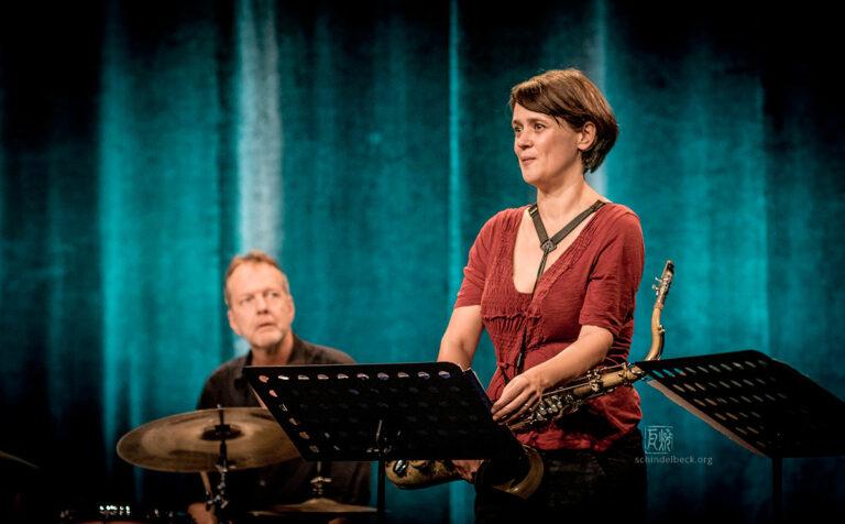 Ingrid Laubrock Photo by Frank Schindelbeck