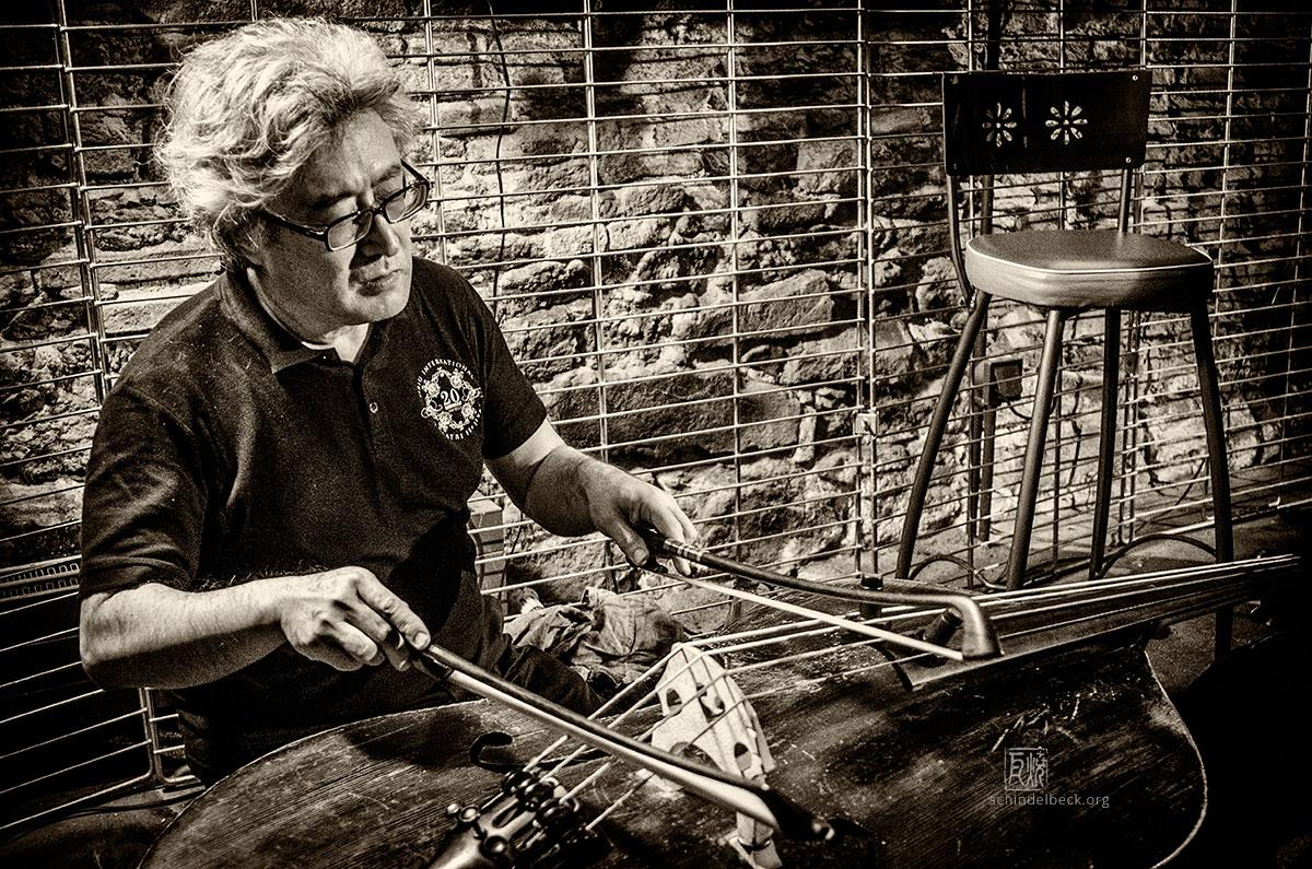 Tetsu Saito - Photo: Frank Schindelbeck