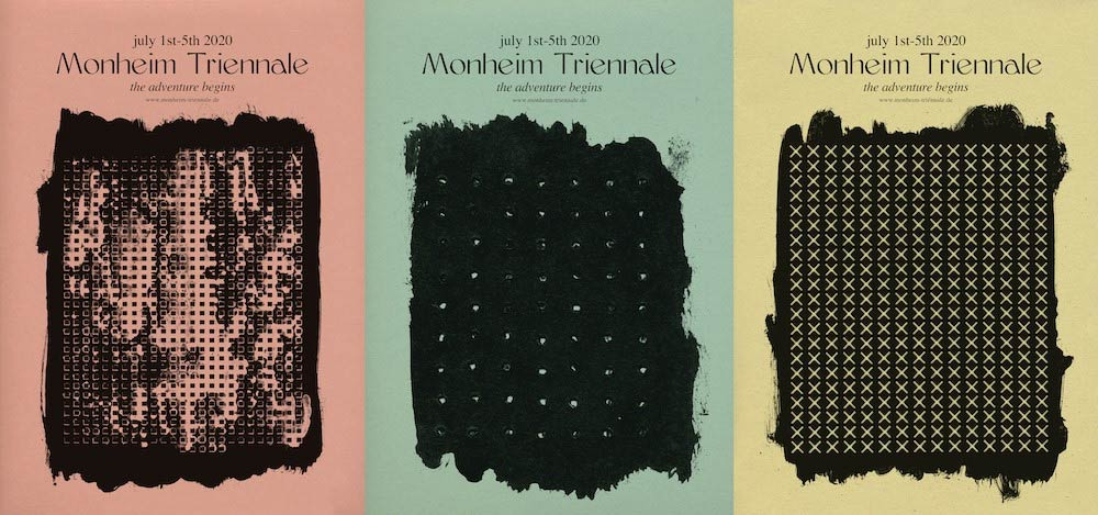 Monheim Triennale - Festival Artwork von Vasilis Marmatakis