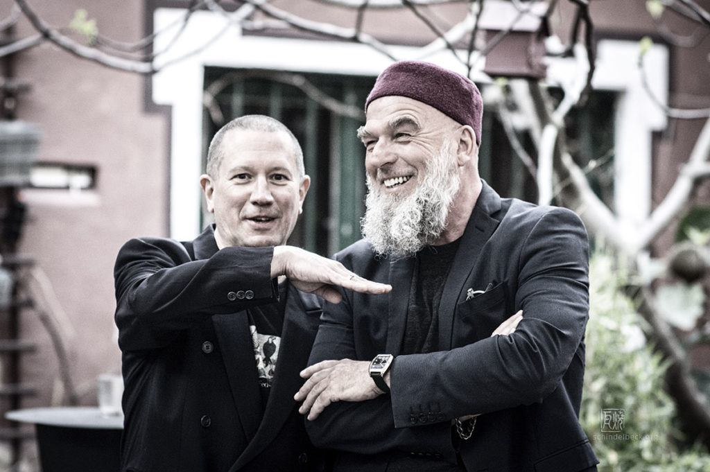 Erwin Ditzner und Chris Jarret