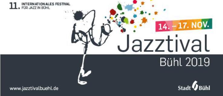 Jazztival Bühl 2019 Logo