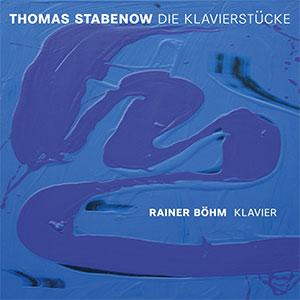 Stabenow / Böhm - Klavierstücke Cover