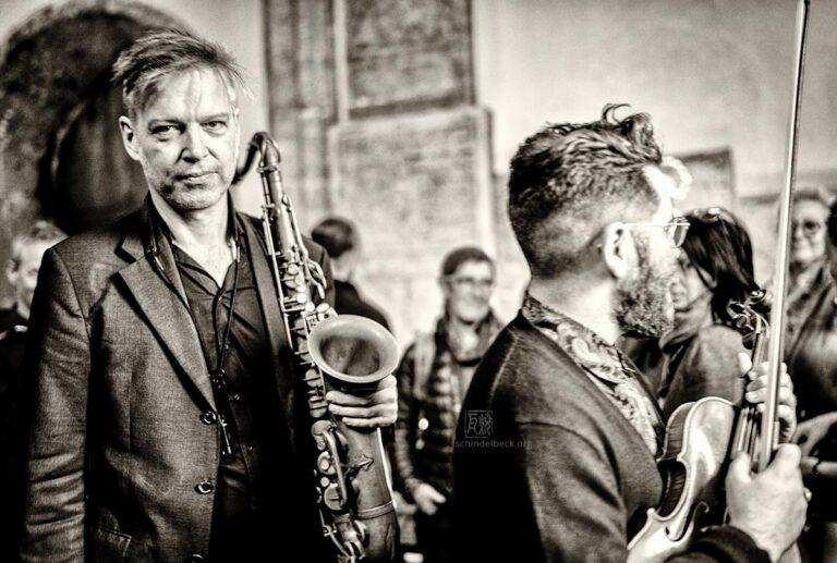 Daniel Erdmann - Photo: Frank Schindelbeck