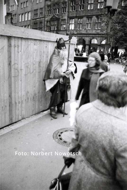 Moondog in Münster - Photo: Norbert Nowotsch