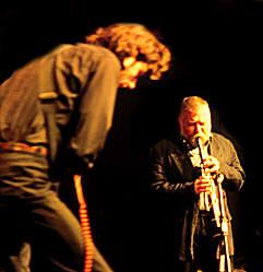 Caspar und Peter Brötzmann - Photo: Schindelbeck