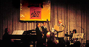 Peter Lehel Jazzpreis Baden-Württemberg 1997 - Photo: Schindelbeck