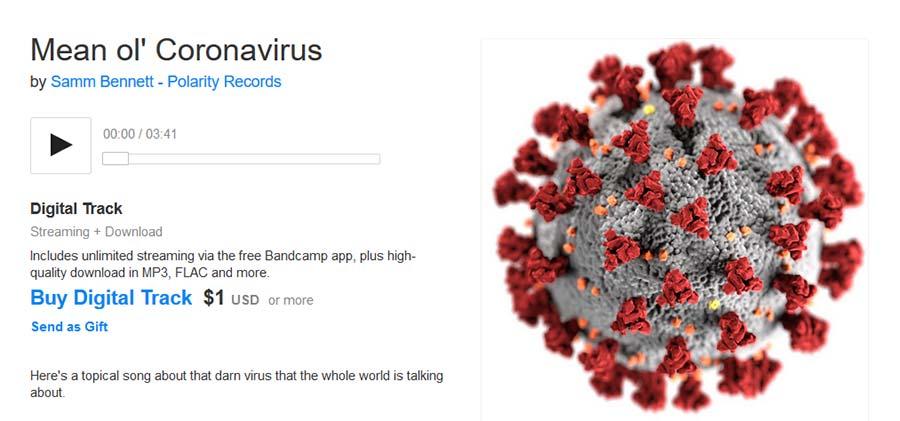 Samm Bennet - Mean ol' Corona Virus - Bandcamp