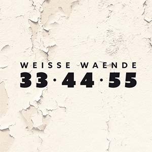 Weisse Waende - 33 44 55 / Cover