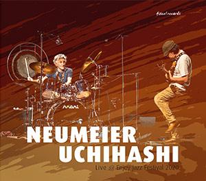 Mani Neumeier + Kazuhisa Uchihashi - Live @ Enjoy Jazz 2020 - fixcel records - Cover