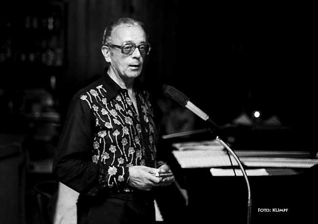 Larry Adler Foto: Hans Kumpf