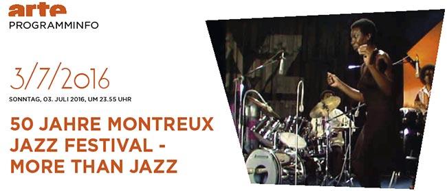 Arte Film zum Montreux Jazzfestival
