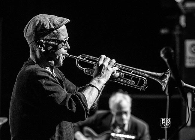 Dave Douglas + Marc Ribot - Photo: Schindelbeck