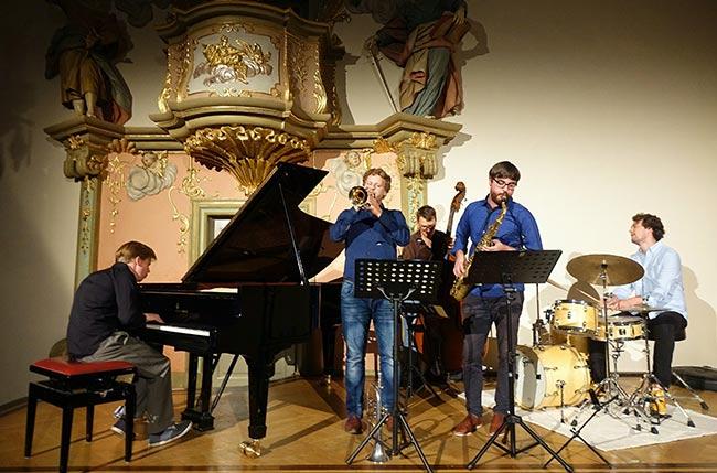 Volker Engelberth Quintett / Foto: Kumpf