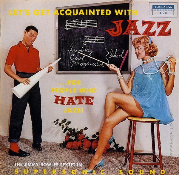 For People Who Hate Jazz - Plattencover