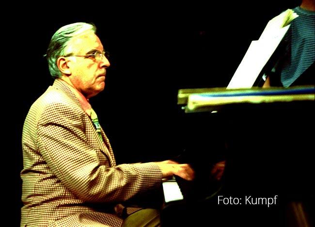 Giorgio Gaslini - Photo: Kumpf