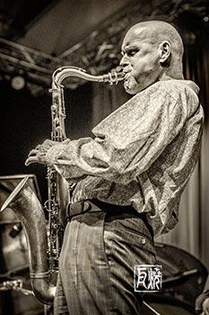 Gebhard Ullmann - Foto by Frank Schindelbeck Jazzfotografie