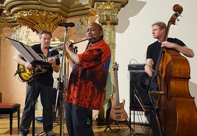 Ro Gebhard Trio Foto: Hans Kumpf
