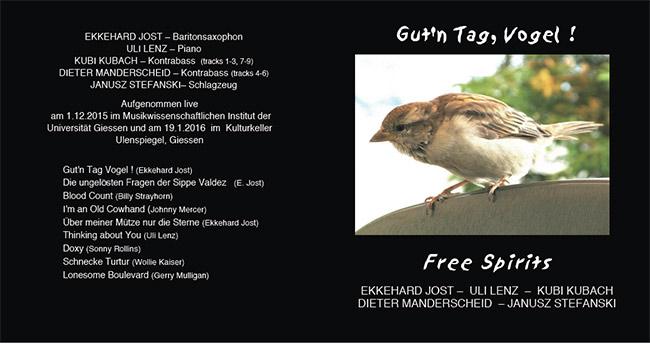 Gut'n Tag Vogel - CD von Fish Music Ekkehard Jost