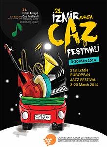 Izmir Jazzfestival Plakat