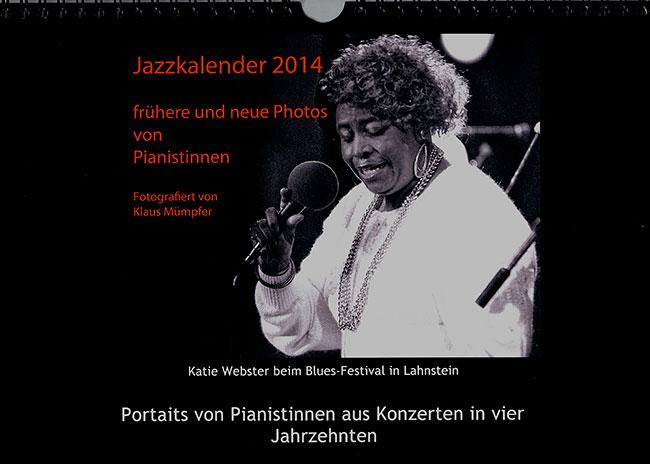 Jazzkalender 2014 von Klaus Mümpfer