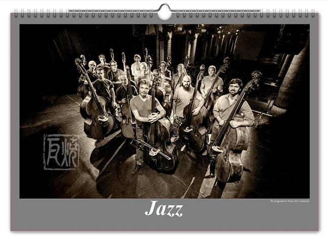 Jazzkalender 2016 - Bassmasse