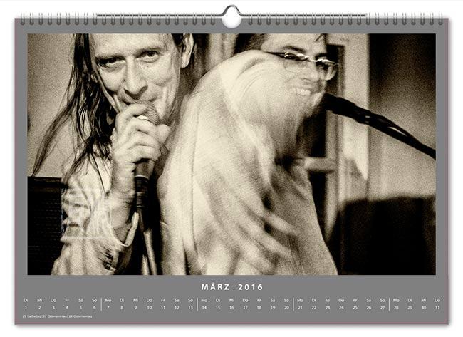 Jazzkalender 2016 - Jimi Hering Experience