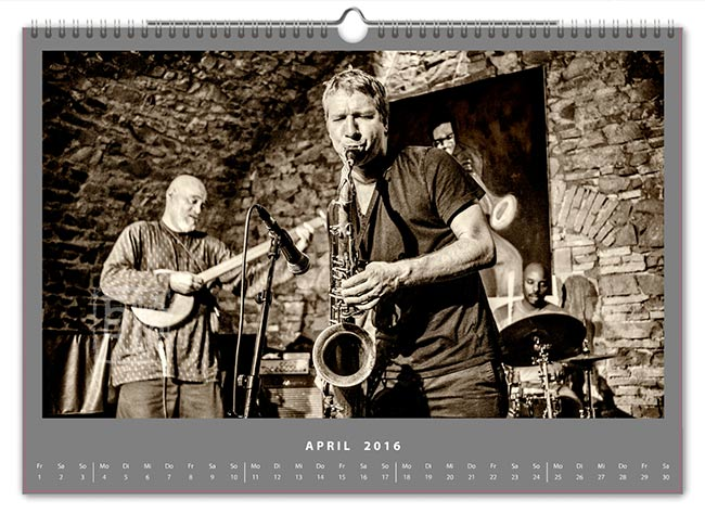 Jazzkalender 2016 - Digital Primitives