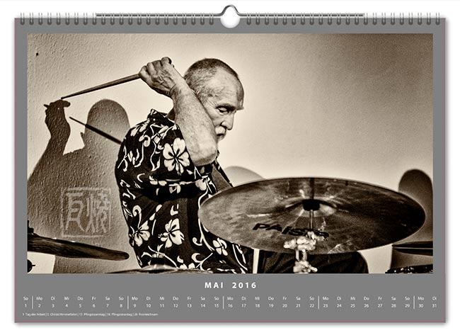 Jazzkalender 2016 - Günter