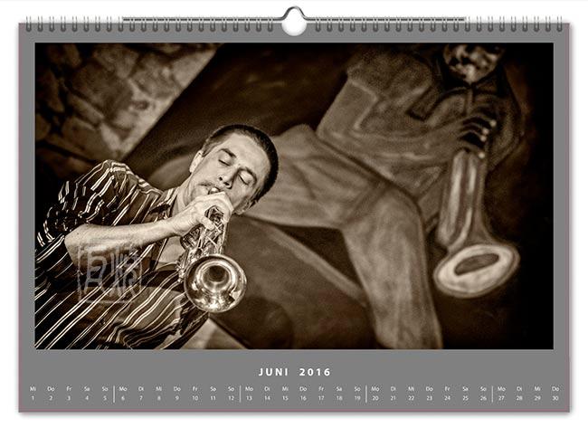 Jazzkalender 2016 - Steffen Faul