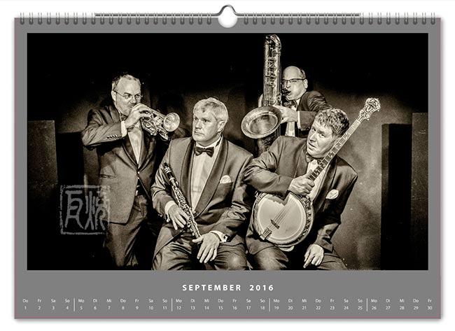 Jazzkalender 2016 - Hot Four
