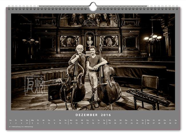 Jazzkalender 2016 - Mark Dresser, Sebastian Gramss
