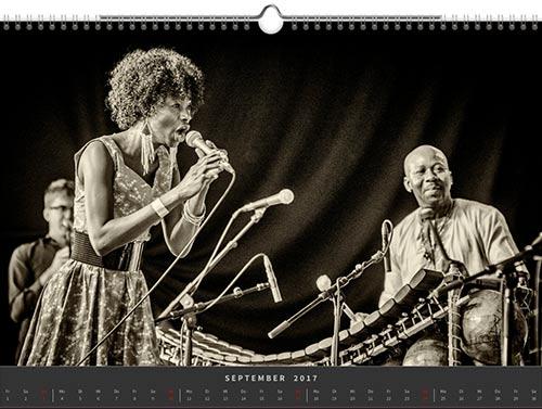 Jazzkalender 2017 von Frank Schindelbeck