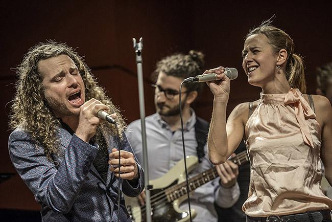 Kai Werth und Nathalie Hoyer - Foto: Mümpfer