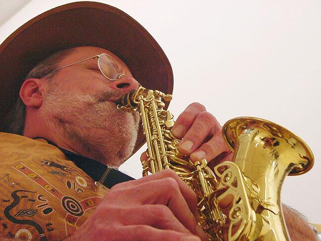 Klaus Kreuzeder Photo: Hans Kumpf