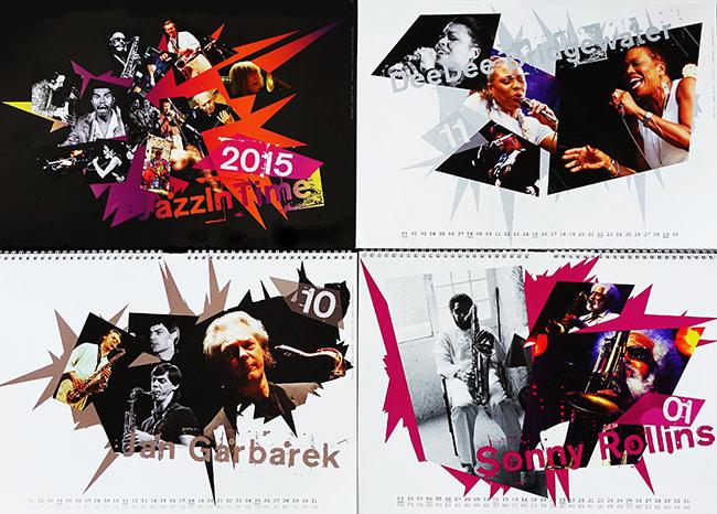 Jazzkolumnist Hans Kumpf präsentiert seinen Jazzkalender 2015 auf den Jazzpages