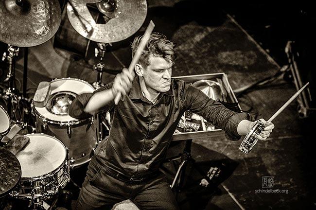 Christian Lillinger - Schindelbeck Jazzfotografie