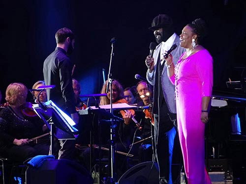 Gregory Porter Dianne Reeves - Photo: Kumpf