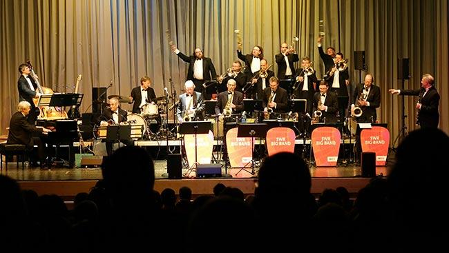 SWR Bigband Trio Foto: Hans Kumpf