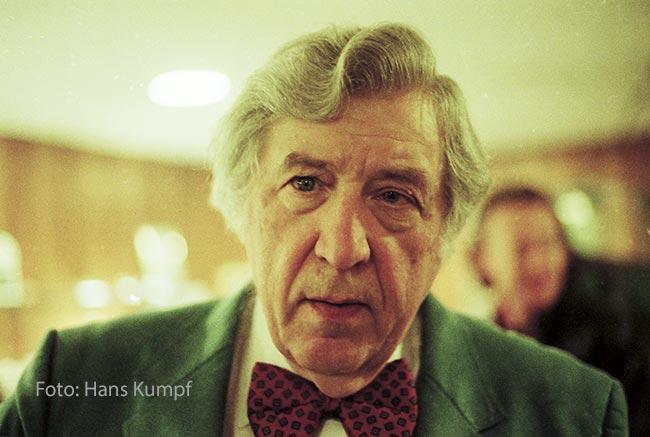 Gunter Schuller, Hans Kumpf Photographie