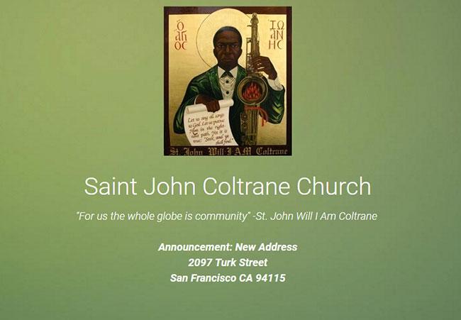 St. John Coltrane Church - Screenshot