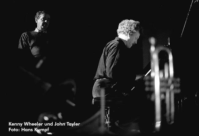 Kenny Wheeler + John Taylor - Poster