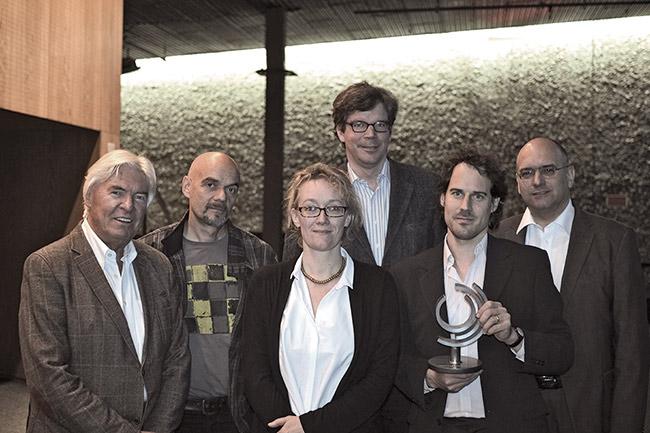 Mangelsdorff Preis für Nils Wogram, Foto Binder